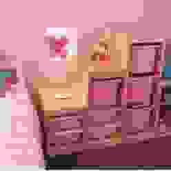 Quarto de menina Traço Magenta - Design de Interiores Quarto infantil moderno