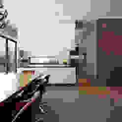 Privathaus München 570 m2 Iria Degen Interiors Moderne Esszimmer
