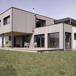 Maison imbriquée atelier—ZOU Maisons modernes