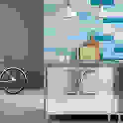 Matisse Blue Sky, Blue Spring, Blue Loyal / deco BAU homify Cocinas de estilo moderno