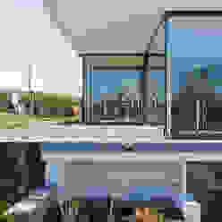 Case moderne di m67 architekten Moderno