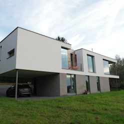 Malonne I Habitation privée très basse énergie ; K 34 - Ew 39 SECHEHAYE Architecture et Design Maisons modernes