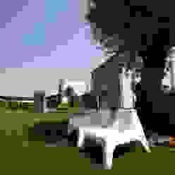 Casa personale Giardino moderno di studiozero Moderno