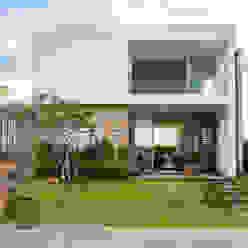 CASA VENTURA M22: Casas  por SBARDELOTTO ARQUITETURA,Moderno