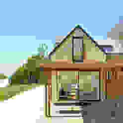 Maison V.W. - Extérieur Franklin Azzi Architecture Maisons modernes
