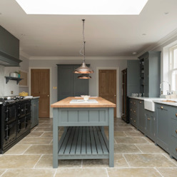 The Hampton Court Kitchen by Floors of Stone Ltd Country