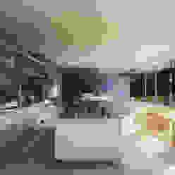 Private House, Suffolk Minimalistische Küchen von Strom Architects Minimalistisch