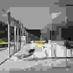 Private House, Suffolk Skandinavische Wohnzimmer von Strom Architects Skandinavisch