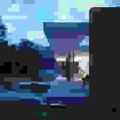 Private House, Suffolk Moderner Balkon, Veranda & Terrasse von Strom Architects Modern