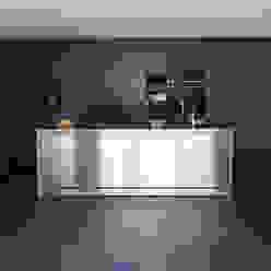 Einfamilienhaus D Moderne Küchen von Architekturbüro Dongus Modern