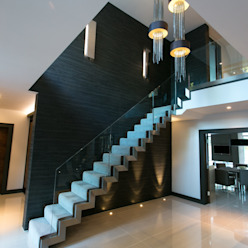 The Ultimate Sophistication Modern Corridor, Hallway and Staircase by Finite Solutions Modern
