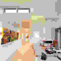 Zithoek Moderne woonkamers van Sax Architecten Modern