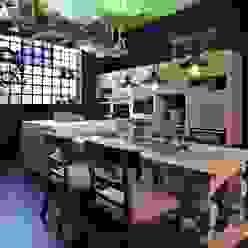 Cozinhas ecléticas por MARIANGEL COGHLAN Eclético