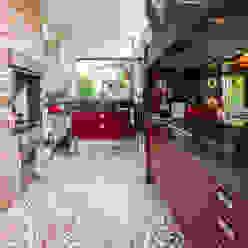 Camila Tannous Arquitetura & Interiores Cocinas eclécticas