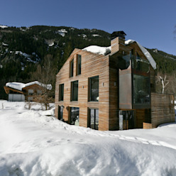 Chalet Piolet Chevallier Architectes Maisons rustiques