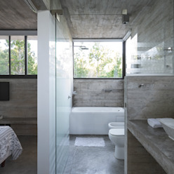 CASA WEIN Besonías Almeida arquitectos Baños modernos