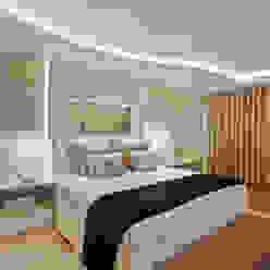 Casa Limeira Quartos modernos por Arquiteto Aquiles Nícolas Kílaris Moderno