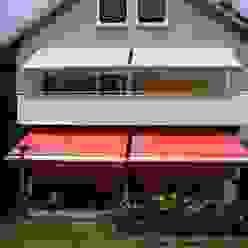 Balkonmarkisen Mester Fenster-Rollladen-Markisen Klassischer Balkon, Veranda & Terrasse