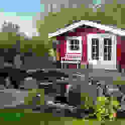 http://www.gardenaffairs.co.uk/our-ranges/log-cabins/ Garten im Landhausstil von Garden Affairs Ltd Landhaus
