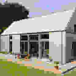 Casas de estilo  por JEBENS SCHOOF ARCHITEKTEN