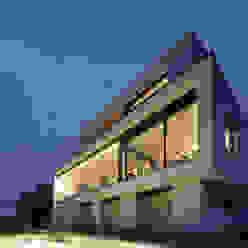 Haus Rheinblick Moderne Häuser von wirges-klein architekten Modern