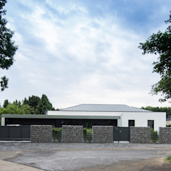Haus_gra Moderne Häuser von aprikari gmbh & co. kg Modern