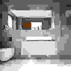 Ventura David James Architects & Partners Ltd Baños de estilo moderno