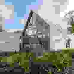 Casas de estilo moderno de Blok Kats van Veen Architecten Moderno