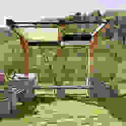 Progetto Giardino Federico Vota design Giardino in stile rustico