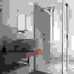 Casa C, interno a Novara diegocolliniarchitetto Bagno minimalista