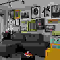 Apartamento Vila Nova Conceição Marcella Loeb Salas de estar modernas