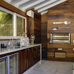 Raquel Junqueira Arquitetura Country style kitchen