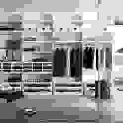 White walk in wardrobe Lamco Design LTD VestidoresPlacares y cómodas