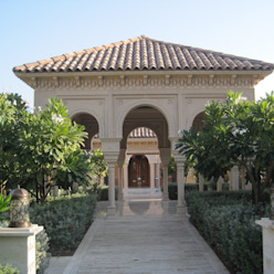 Residential (Royal) Palace at Qatar Doha TOPOS+PARTNERS Country style houses