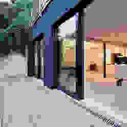 Landloft Stuttgart Industrialer Balkon, Veranda & Terrasse von CIP Architekten Ingenieure Industrial