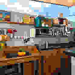 Bar Gourmet Cozinhas modernas por Estúdio 102 Moderno