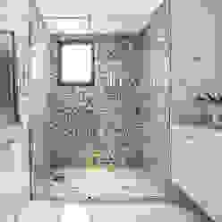 Apartamento Chácara Klabin (SP) Banheiros modernos por Amanda Pinheiro Design de interiores Moderno