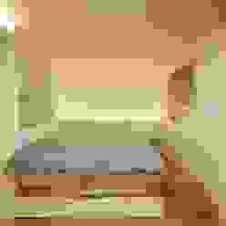 침대 모던스타일 침실 by 홍예디자인 모던