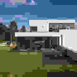 Wohnhaus in Dresden Moderne Häuser von Architekturfotografie Steffen Spitzner Modern