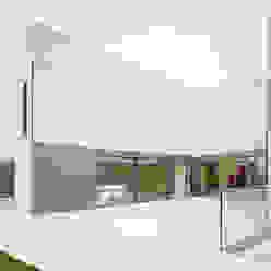 S3 CITYVILLA Minimalistischer Balkon, Veranda & Terrasse von steimle architekten Minimalistisch