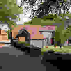 Veddw Farm, Monmouthshire Hall + Bednarczyk Architects Дома в стиле кантри