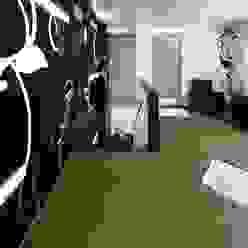 Decoración orgánica Pasillos, vestíbulos y escaleras minimalistas de Murales Divinos Minimalista
