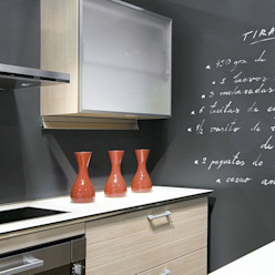 Receta de tiramisú Murales Divinos Cocinas de estilo minimalista
