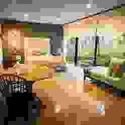 Departamento Tres Picos Dormitorios modernos de Concepto Taller de Arquitectura Moderno