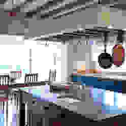 La Falaise Cocinas rústicas de CCD Architects Rústico