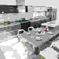 Cocinas de estilo moderno de Ancona + Ancona Arquitectos Moderno