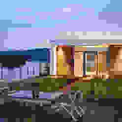 Cliff Dwelling Moderner Balkon, Veranda & Terrasse von Specht Architects Modern