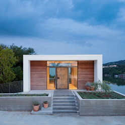 Cliff Dwelling Modern houses by Specht Architects Modern
