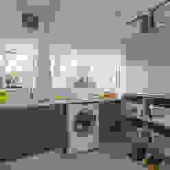 laundry room Cocinas modernas: Ideas, imágenes y decoración de GUTMAN+LEHRER ARQUITECTAS Moderno