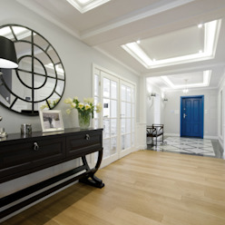 Couloir, entrée, escaliers modernes par 3deko Moderne